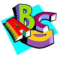 حروف A,B,C,D در املای اعداد