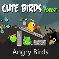بازی آنلاین پرندگان خشمگین جنگل