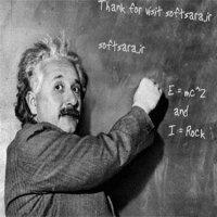 شما بفرمایید، انیشتین مینویسه