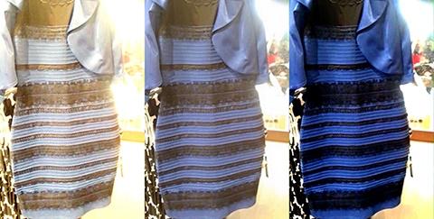 این لباس را چه رنگی می بینید